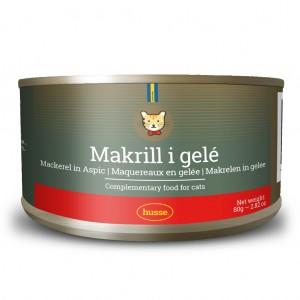 Mackerel in Jelly: 80g